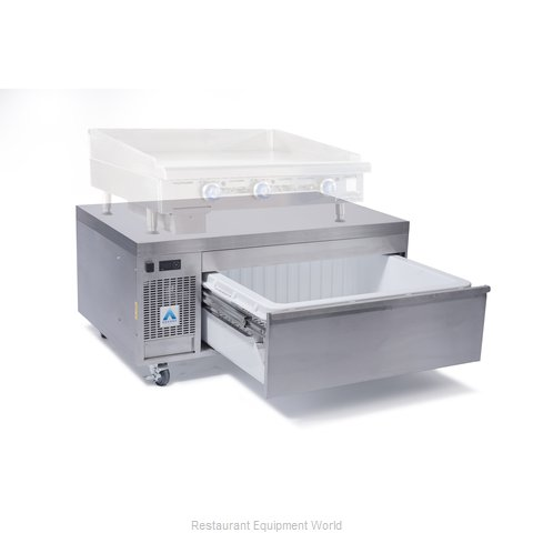 Adande Refrigeration CHEF BASE SIDE ENGINE HEAT SHIELD TOP Refrigerator Freezer,