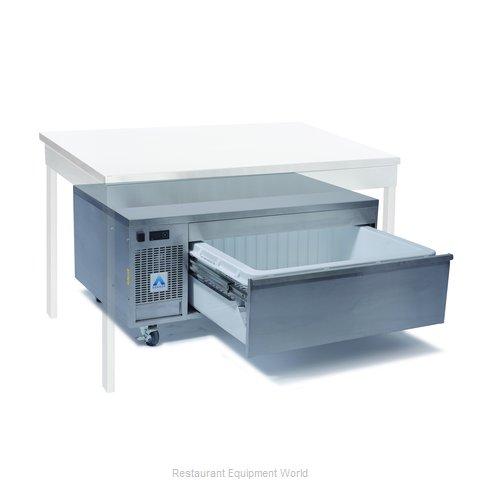 Adande Refrigeration UNDER COUNTER SIDE ENGINE 1 DRAWER UNIT Refrigerator Freeze