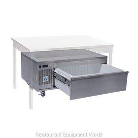 Adande Refrigeration VCS1/CT Refrigerator Freezer, Convertible