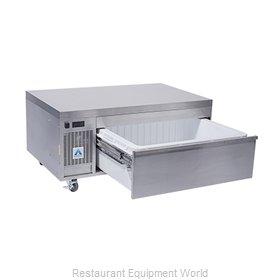 Adande Refrigeration VCS1/CW Refrigerator Freezer, Convertible