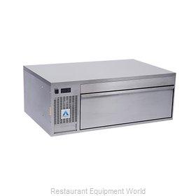 Adande Refrigeration VCS1/FBW Refrigerator Freezer, Convertible