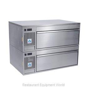 Adande Refrigeration VCS2/FBT Refrigerator Freezer, Convertible