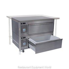 Adande Refrigeration VCS2/SCT Refrigerator Freezer, Convertible