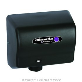 American Dryer CPC9-BG Cold Plasma Clean Hand Dryer, Steel Black Graphite
