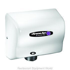 American Dryer CPC9 Cold Plasma Clean Hand Dryer, White ABS