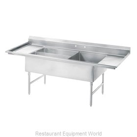 Advance Tabco 18-K5-56 Sink 3 Three Compartment
