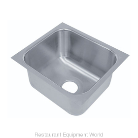 Advance Tabco 1824A-14 Sink Bowl, Weld-In / Undermount