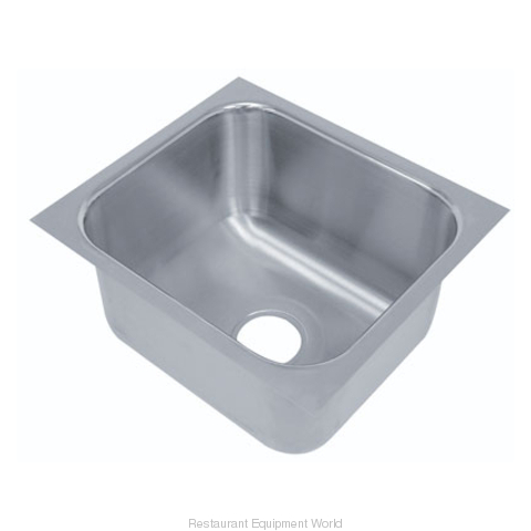 Advance Tabco 1824A-14A Sink Bowl, Weld-In / Undermount