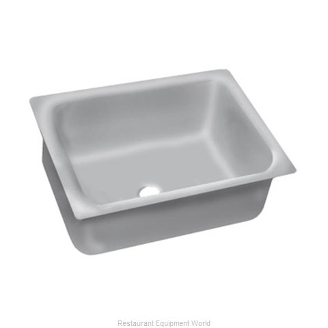 Advance Tabco 2028A-14A Sink Bowl, Weld-In / Undermount