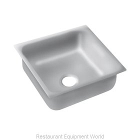 Advance Tabco 2424A-14A Sink Bowl, Weld-In / Undermount