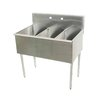 Advance Tabco 4-3-54-X Sink, (3) Three Compartment