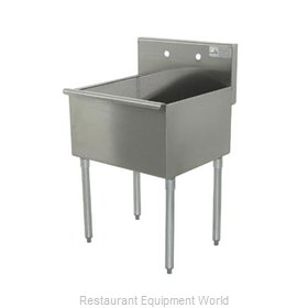 Advance Tabco 4-41-24-X Sink, (1) One Compartment
