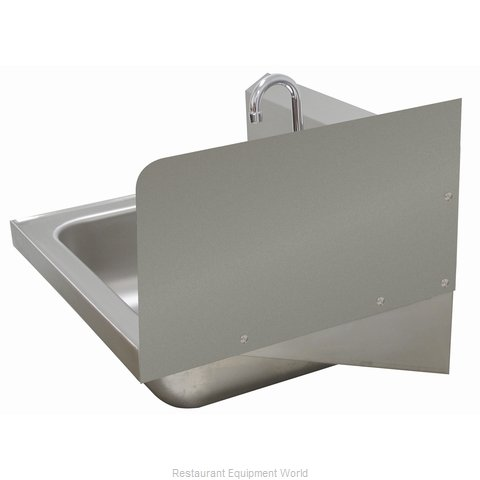 Advance Tabco 7-PS-11C Welded Side Splash (Magnified)