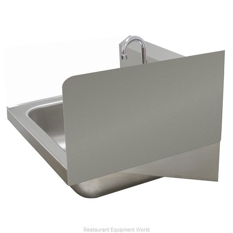 Advance Tabco 7-PS-11E Welded Side Splash (Magnified)