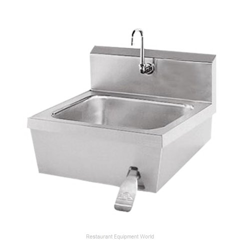 Advance Tabco 7 PS 30 Sink, Hand (Magnified)