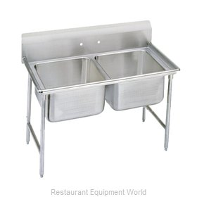 Advance Tabco 9-2-36-X Sink, (2) Two Compartment