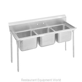 Advance Tabco 9-3-54-X Sink, (3) Three Compartment