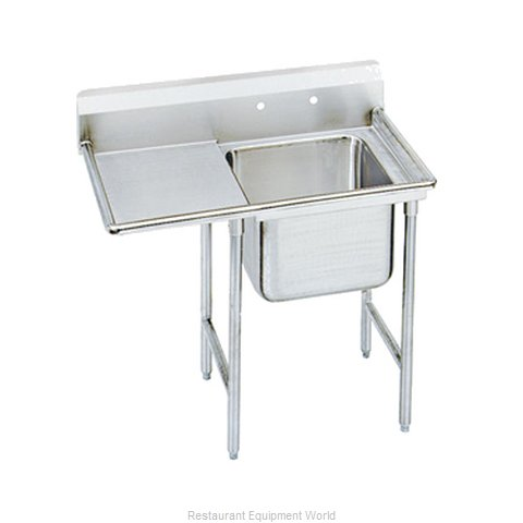 Advance Tabco 9-41-24-24L-X Sink, (1) One Compartment