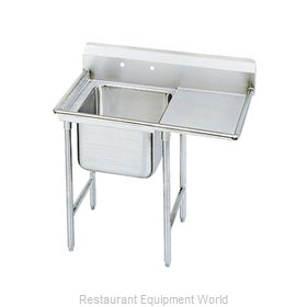Advance Tabco 9-41-24-24R-X Sink, (1) One Compartment