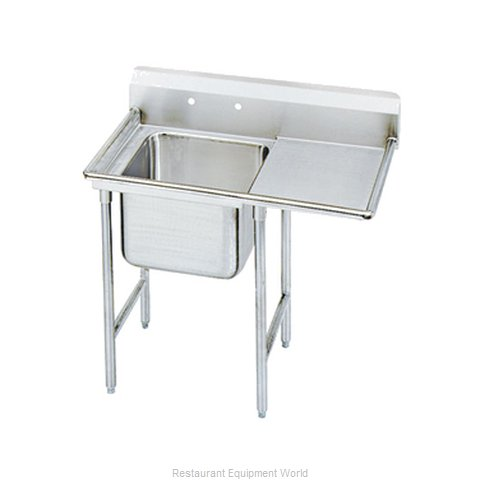 Advance Tabco 9-61-18-18R-X Sink, (1) One Compartment