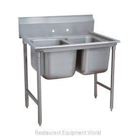 Advance Tabco 9-82-40 Sink 2 Two Compartment