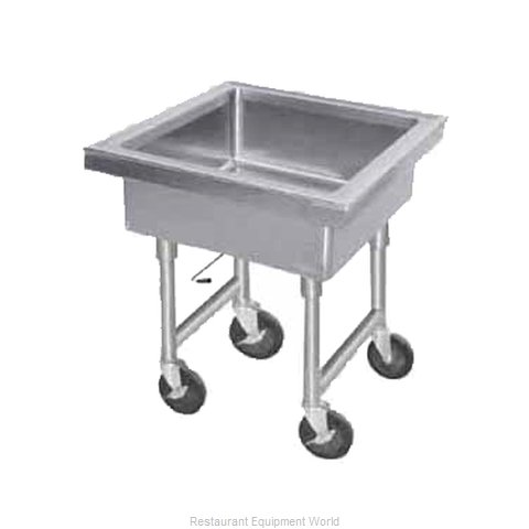 Advance Tabco 9-FMS-12 Soak Sink, Portable