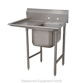 Advance Tabco 93-1-24-18L One Compartment, One Drainboard Sink