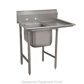 Advance Tabco 93-1-24-24R Sink, (1) One Compartment