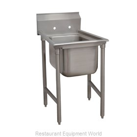 Advance Tabco 93-1-24 Sink, (1) One Compartment