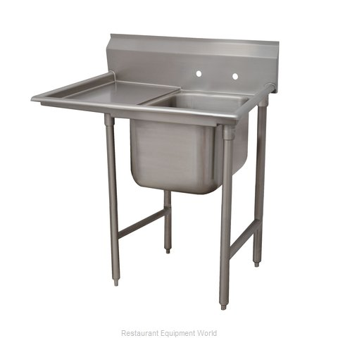Advance Tabco 93-41-24-24L One Compartment, One Drainboard Sink