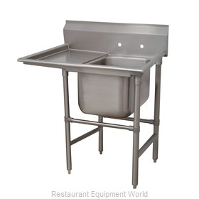 Advance Tabco 94-1-24-36L Sink 1 One Compartment