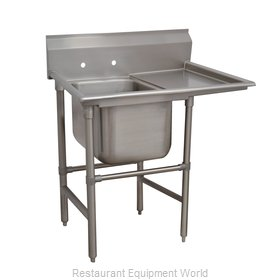 Advance Tabco 94-41-24-24R Sink 1 One Compartment