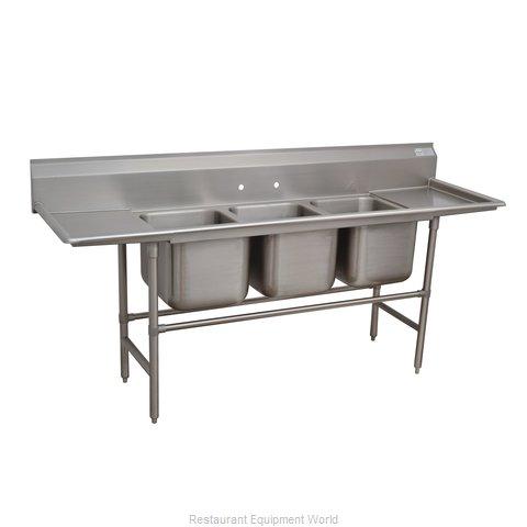 Advance Tabco 94-83-60-36RL Sink, (3) Three Compartment
