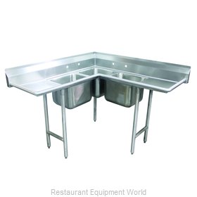 Advance Tabco 94-K4-24D Sink, (3) Three Compartment