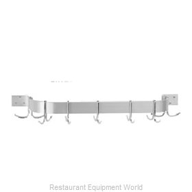 Advance Tabco ALW-24 Pot Rack, Wall-Mounted