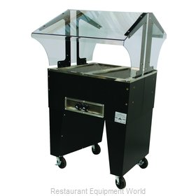 Advance Tabco B2-120-B Serving Counter, Hot Food, Electric