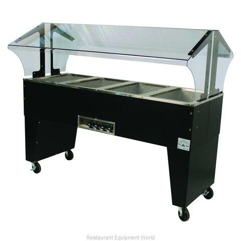Advance Tabco B4-120-B Serving Counter, Hot Food, Electric