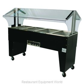 Advance Tabco B4-120-B Serving Counter, Hot Food, Electric