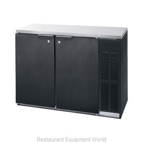 Advance Tabco BBR-36 Back Bar Cabinet, Refrigerated