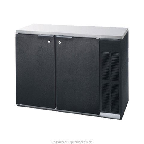 Advance Tabco BBR-59 Back Bar Cabinet, Refrigerated