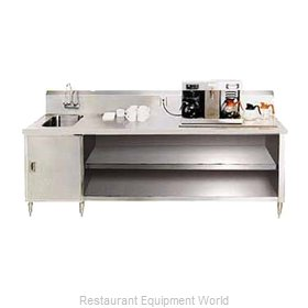 Advance Tabco BEV-30-72L Beverage Table