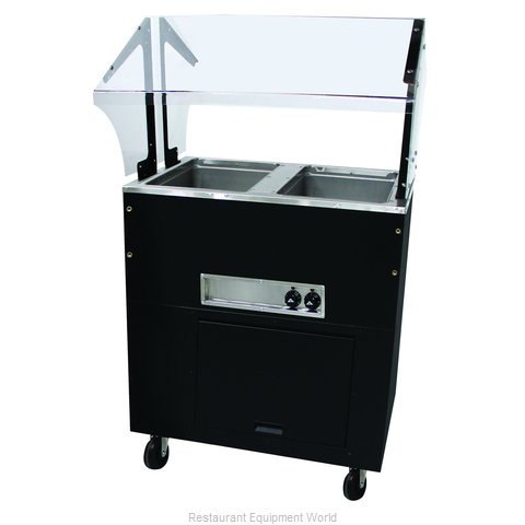 Advance Tabco BSW2-120-B-SB Serving Counter, Hot Food, Electric