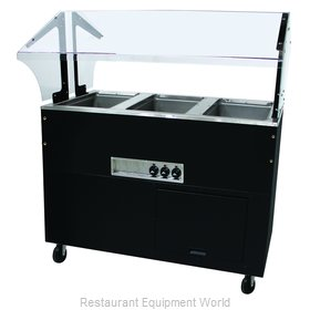 Advance Tabco BSW3-120-B-SB Serving Counter, Hot Food, Electric