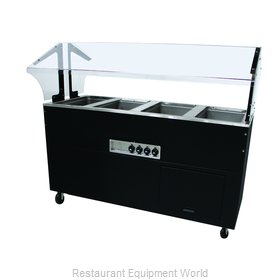 Advance Tabco BSW4-120-B-SB Serving Counter, Hot Food, Electric