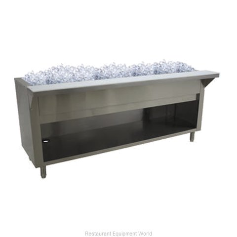 Advance Tabco CPU-5-BS Serving Counter, Cold Food
