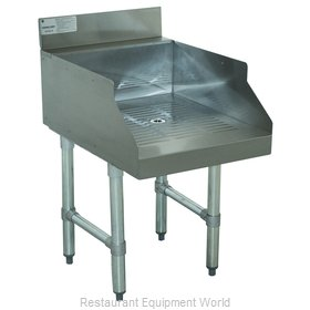 Advance Tabco CR-GS-18 Underbar Drain Workboard Unit
