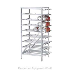 Advance Tabco CR10-162 Can Storage Rack