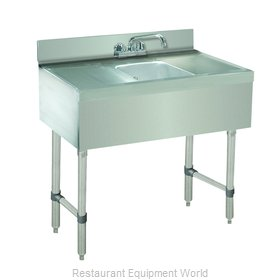 Advance Tabco CRB-31C Underbar Sink Units
