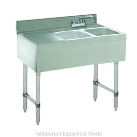 Advance Tabco CRB-32R Underbar Sink Units