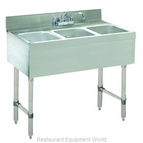 Advance Tabco CRB-33C-X Underbar Sink Units